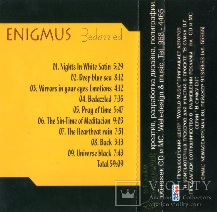 Enigmus (Bedazzled) 2002. (MC). Кассета. Franchising Records. Ukraine., фото №7