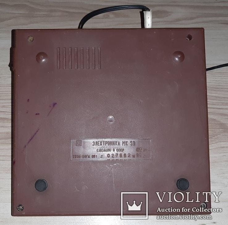 Калькулятор електроника мк59, фото №6