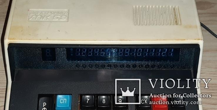 Калькулятор електроника мк59, фото №3