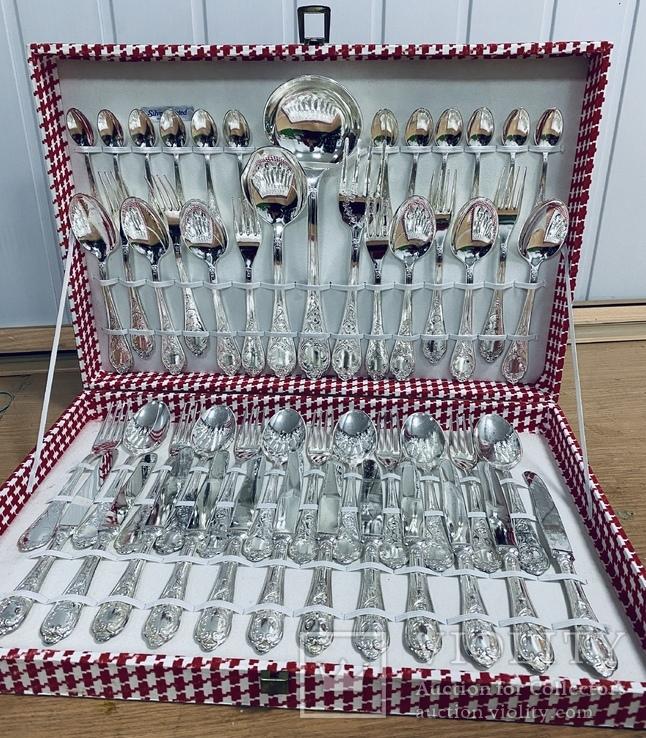 51 столовый прибор на 12 персон в оригинальной упаковке - Италия, фото №2