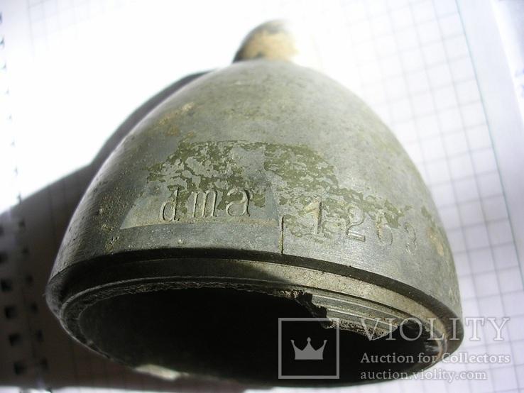 Часть кумулятивного немецкого снаряда, фото №3