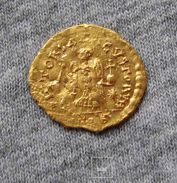 Тремисс. Анастасий ( 491-518 гг. ). Чекан Константинополь.