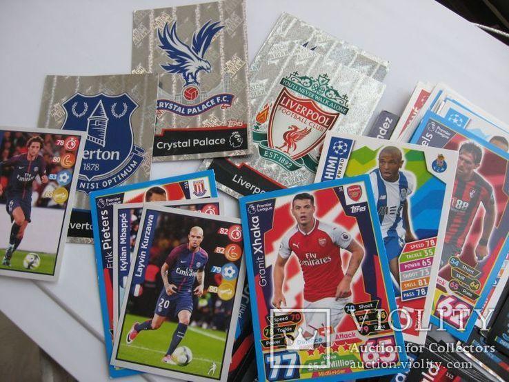 Карточки футболисты 118 шт, фото №3