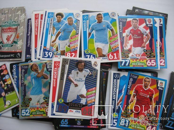 Карточки футболисты 118 шт, фото №4