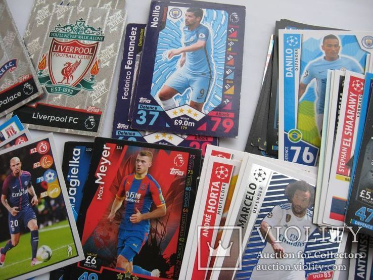 Карточки футболисты 118 шт, фото №5