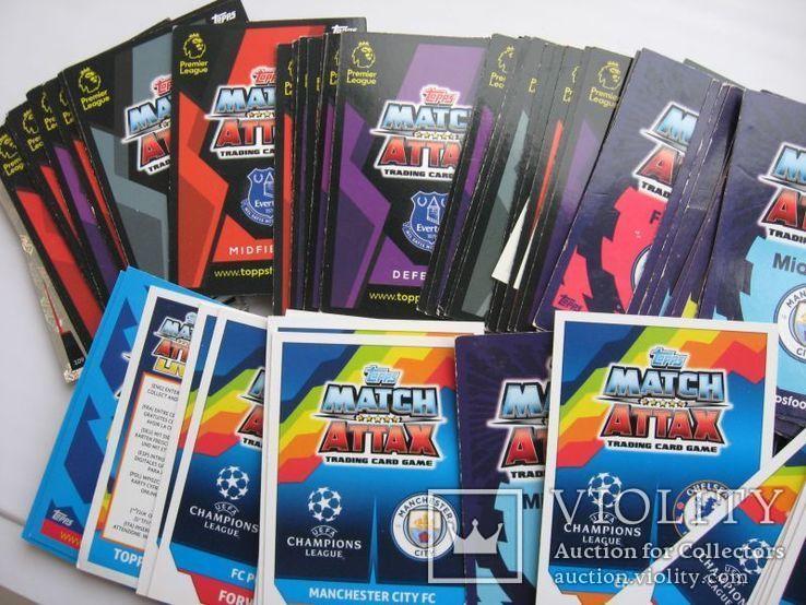 Карточки футболисты 118 шт, фото №6