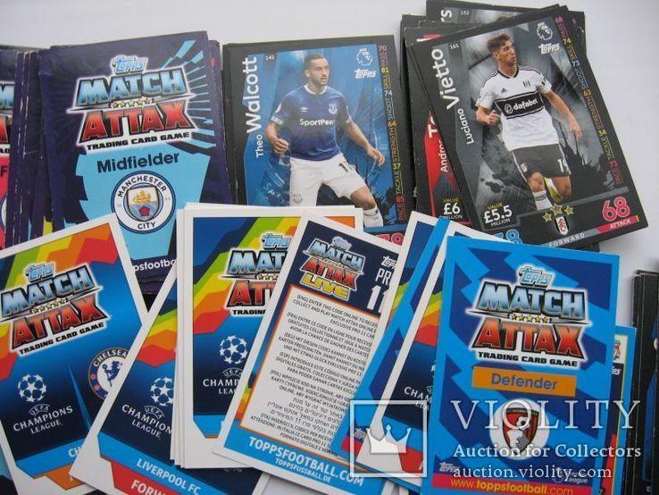 Карточки футболисты 118 шт, фото №7
