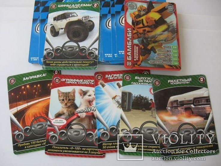 Карточки Супергонки 43 шт, фото №7