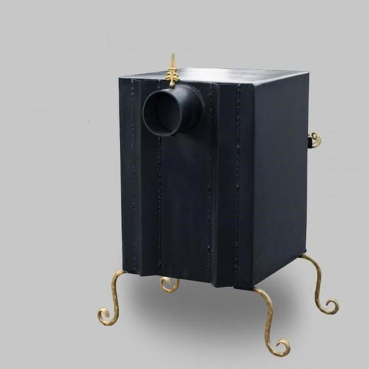 Печь камин Экожар Комфорт Плюс с жаростойким стеклом с пиролизом, фото №3