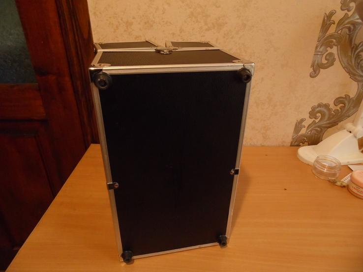 Кейс для візажиста вис 25 см дл 36  шир 22, фото №9