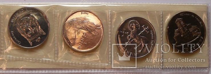 Набор монет Андорры, 7 монет, (2002 г.) UNC, фото №7