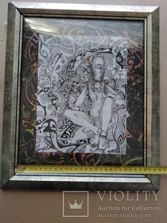 """Фигура""  б.см.техн. 2004 г., Н.Х., фото №7"