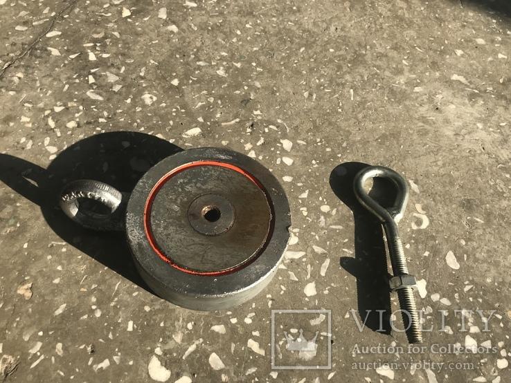 Поисковый магнит РЕДМАГ 2*F400, фото №3