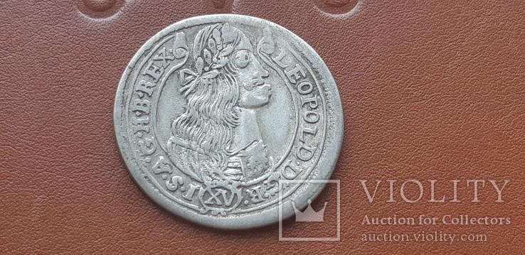 15  крейцеров 1676 г.  Венгрия