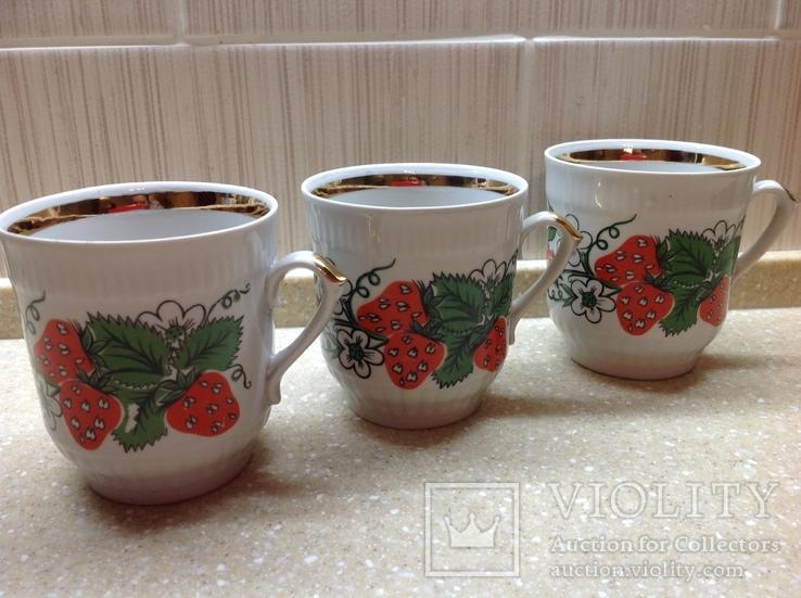 Чашки фарфор Городница, фото №2