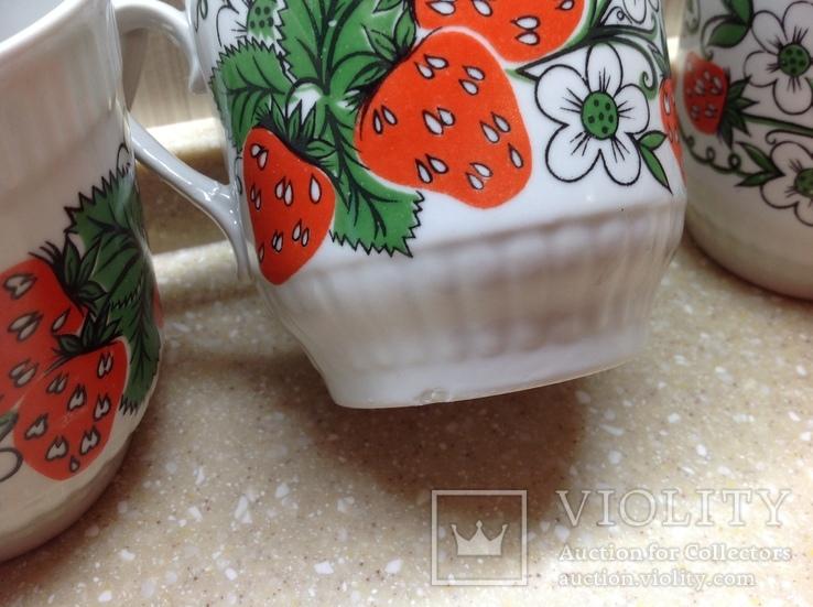 Чашки фарфор Городница, фото №5