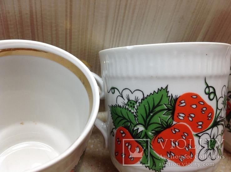 Чашки фарфор Городница, фото №6