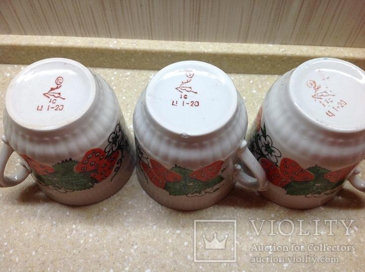 Чашки фарфор Городница, фото №7