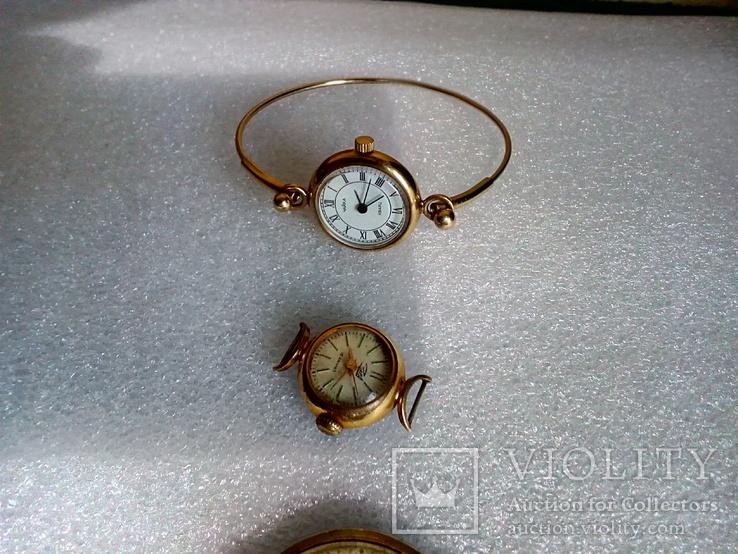 Часы заря Ау12.5 чайка Ау technos 10, фото №4