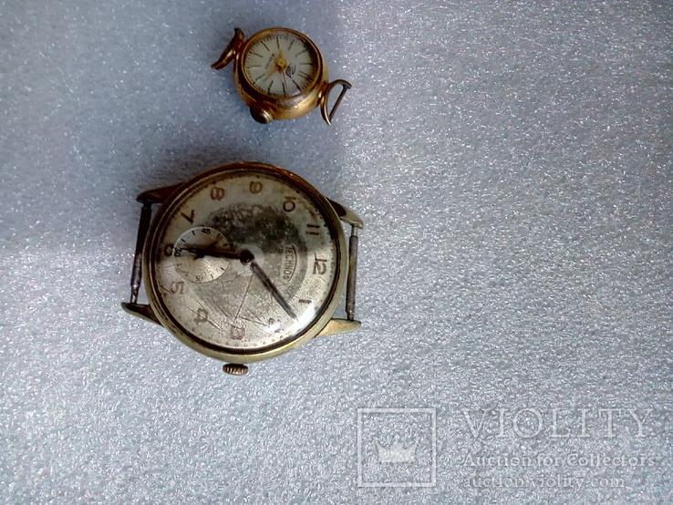 Часы заря Ау12.5 чайка Ау technos 10, фото №5