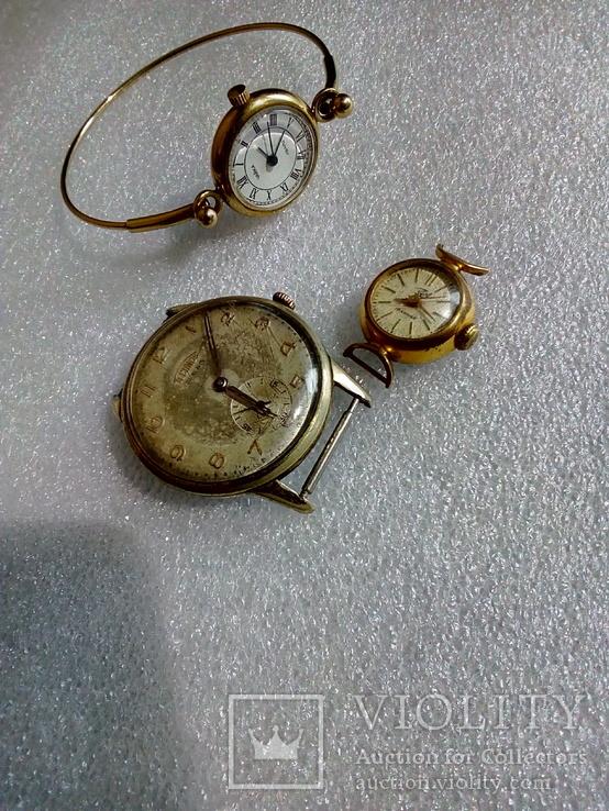 Часы заря Ау12.5 чайка Ау technos 10, фото №7