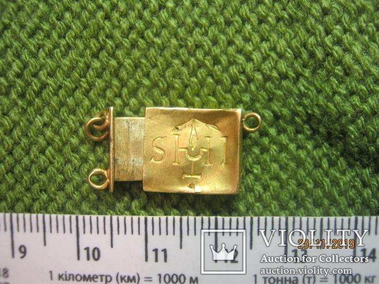 Частина ювелірної прикраси зі знаком ОРДЕНА ІЄЗУЇТІВ, фото №3