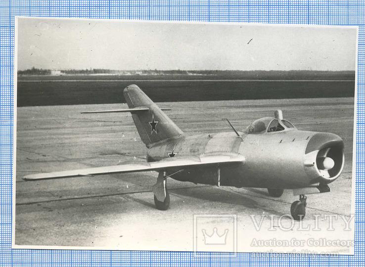 Фотокопия. Опытный самолет МИГ-15 (СП-5)