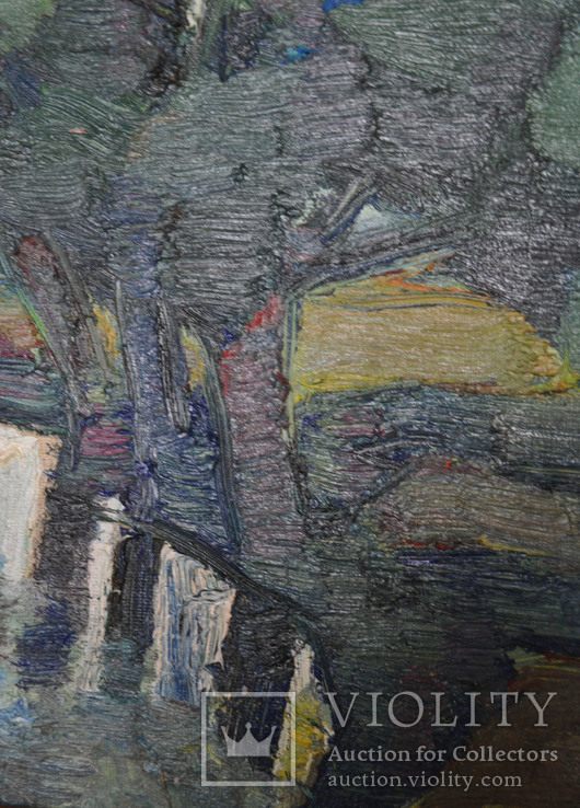 """Лавренко Анатолій  """" Озерце"""" 2007, полотно, олія, 50Х40, фото №3"""