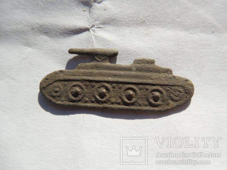 Знак на петлицу танк..., фото №3