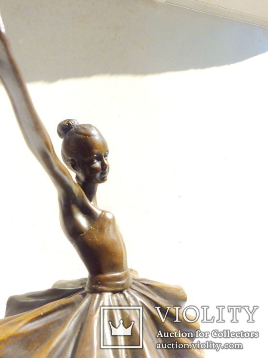 Статуэтка скульптура бронза балерина - 31,5 см, фото №5