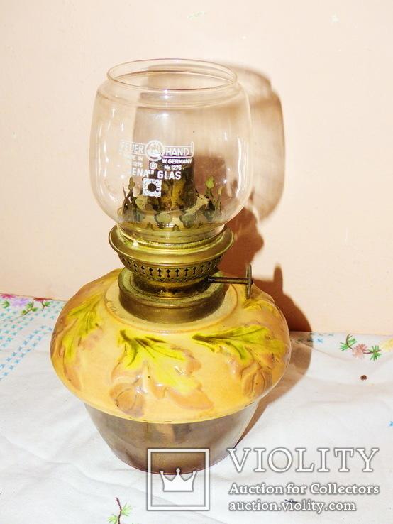 Коллекционная керосиновая лампа Kosmos Brenner. Винтаж Германия, фото №6