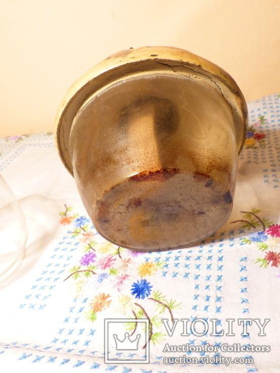 Коллекционная керосиновая лампа Kosmos Brenner. Винтаж Германия, фото №11