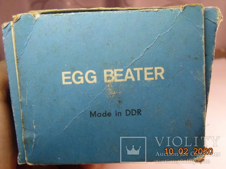 Миксер Gloria  DDR с коробкой.  времен ссср, фото №6