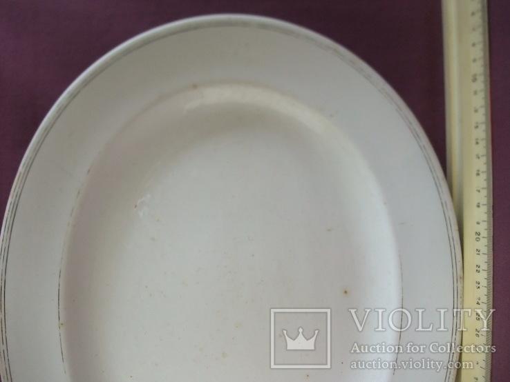 Блюдо Franz Sturtz Odessa. Фарфор Англия ХІХ век., фото №4