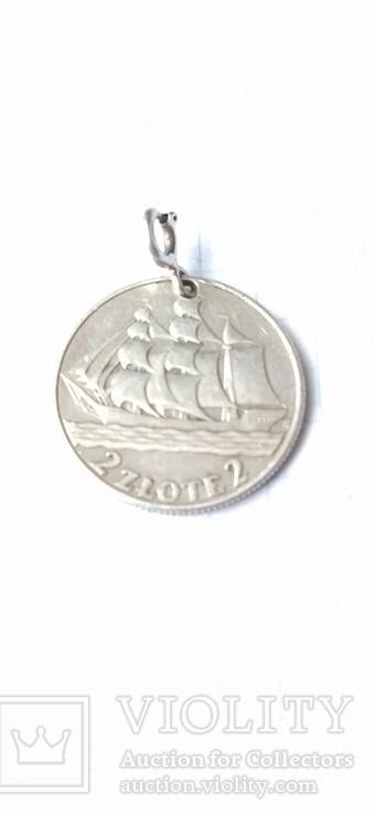 Дукач кораблик срібло, фото №2