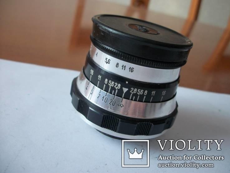 Объектив индустар-61 аттестат на него и  к фотоаппарату фэд-3Л, фото №3