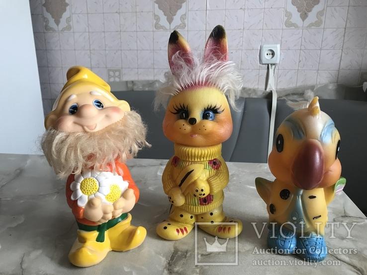 Резиновые игрушки СССР, фото №2