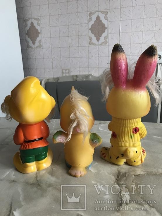 Резиновые игрушки СССР, фото №11