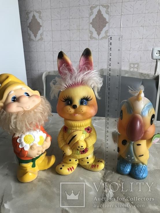 Резиновые игрушки СССР, фото №12