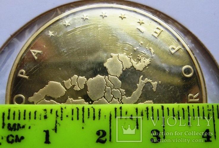 """Люксембург, 10 серебряных евро """"Прощание с франком"""" 2002 г., фото №5"""