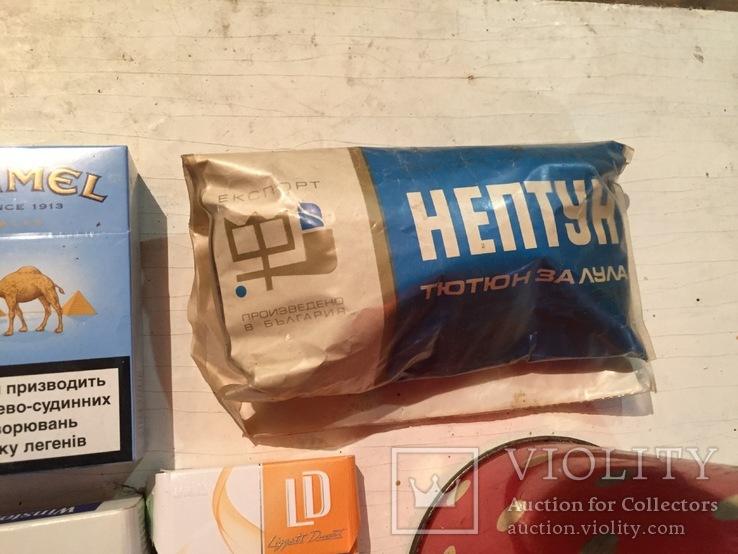 Сигареты, Табак Нептун и табак в банке., фото №5
