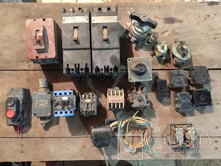 Автоматы, пускатели, кнопка, тумблера..., фото №2