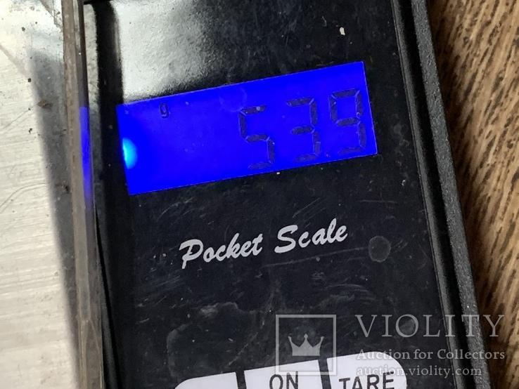 Винтажный браслет с Англии 56 грамм, фото №4