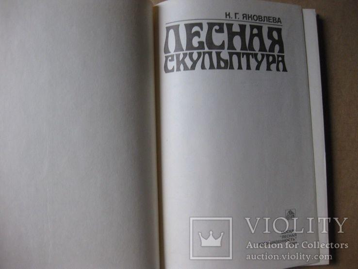 Лесная скульптура. Яковлев. 1988, фото №3