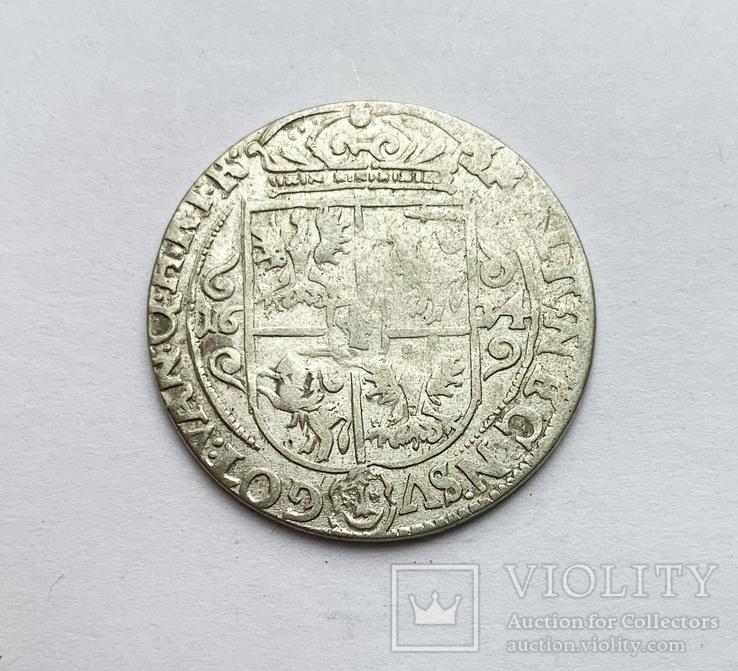 Орт 1624 года. Коронный, фото №2