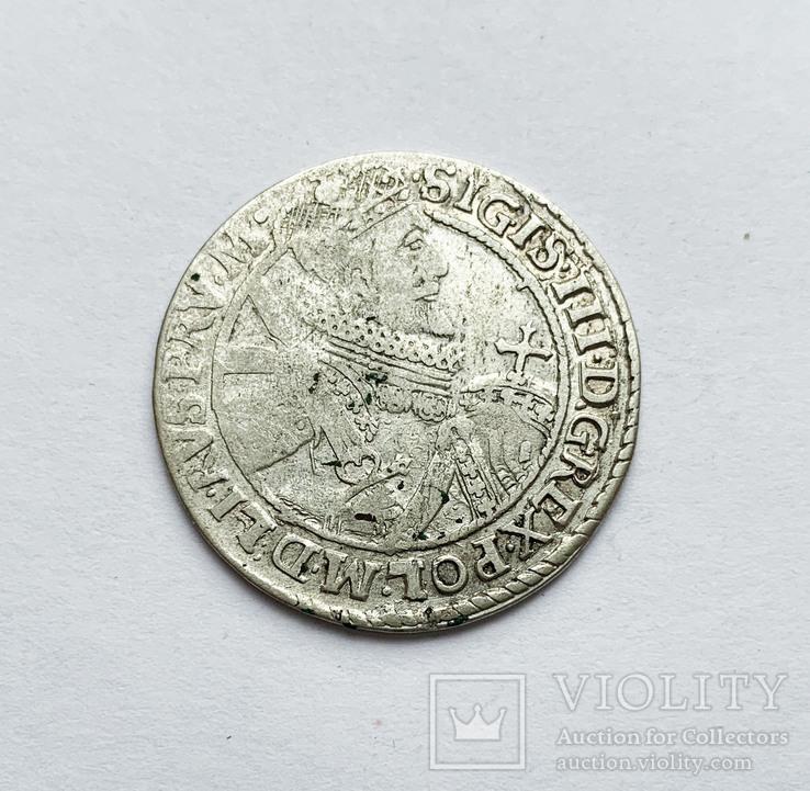 Орт 1621 года. Коронный. №2, фото №3