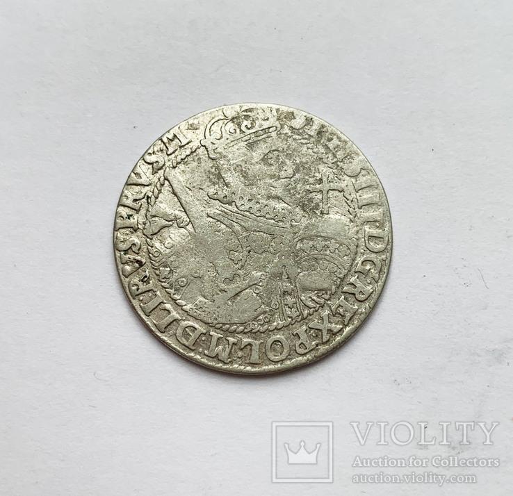 Орт 1622 года. Коронный. №5, фото №3