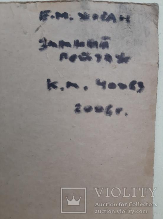 Жосан Е.М., ЧНСХУ., 40х63 см., фото №5