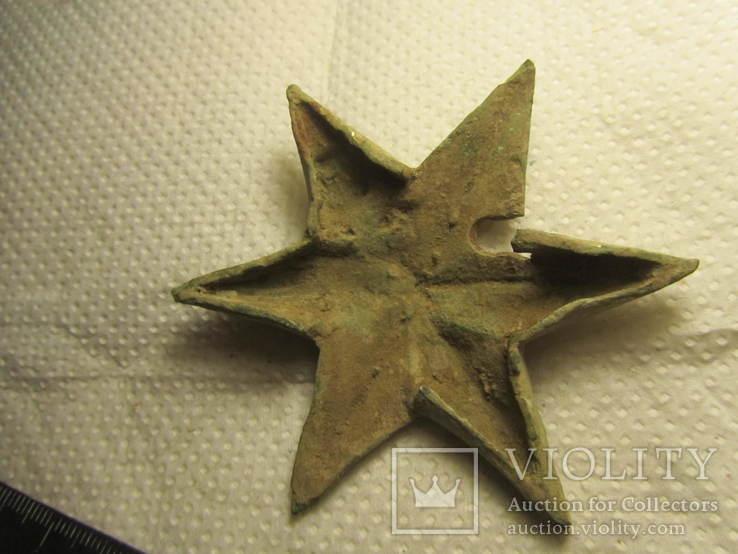 Накладка (звезда) в позолоте, фото №8