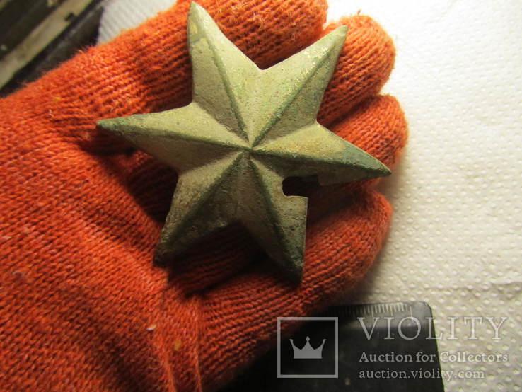 Накладка (звезда) в позолоте, фото №9